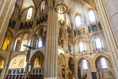 Gotisk kupol i Limburg, Tyskland Royaltyfri Foto