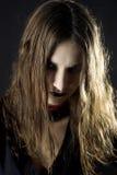 gotisk kvinna Royaltyfria Bilder