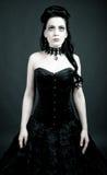 gotisk kvinna Royaltyfria Foton