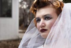 Gotisk kvinna Fotografering för Bildbyråer
