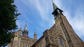 Gotisk kyrka Royaltyfri Bild