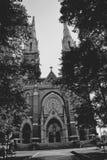 Gotisk kyrka Arkivbilder