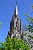 Gotisk kyrka arkivfoton