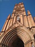 Gotisk kyrka royaltyfri foto