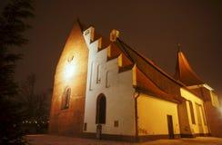 Gotisk kyrka av beställningen Royaltyfri Bild