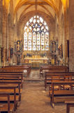 Gotisk kyrka i franska brittany Royaltyfri Bild