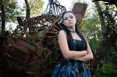 gotisk lady Royaltyfri Bild