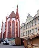 Gotisk Marienkapelle kyrka i Bayern, Tyskland Royaltyfri Fotografi