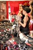gotisk marknad för bås Royaltyfri Foto