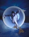 gotisk mermaid arkivbild