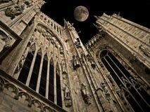 gotisk natt Fotografering för Bildbyråer