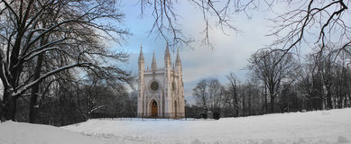 gotisk petersburg russst Royaltyfri Bild