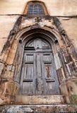 gotisk portal Royaltyfria Foton