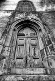 gotisk portal Royaltyfri Bild