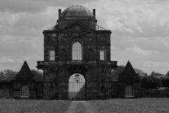 Gotisk porthus arkivfoton