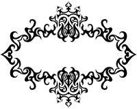 gotisk ram Royaltyfri Fotografi