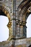 Gotisk sandstenpelare Royaltyfri Foto