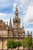 Gotisk Seville domkyrka i Spanien Royaltyfri Bild