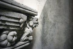 gotisk staty arkivbild