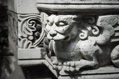 gotisk staty royaltyfria foton