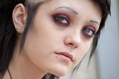 gotisk stil för flicka Arkivfoton