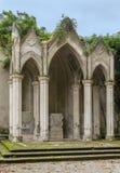 Gotisk tempel i villan Celimontana, Rome Arkivbilder