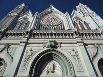 gotisk templo för expiatorio Royaltyfri Fotografi