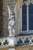 Gotiska Angel Architecture Detail Arkivbild