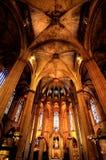 gotiska barcelona Fotografering för Bildbyråer