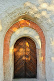 gotiska dörrar Royaltyfri Fotografi