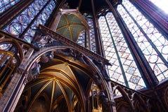 gotiska fönster Arkivbilder