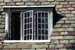 gotiska fönster Fotografering för Bildbyråer