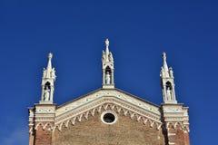 Gotiska höjdpunkter i Venedig Arkivbilder