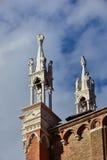 Gotiska höjdpunkter i Venedig Royaltyfria Bilder