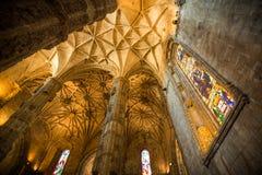Gotiska Manuelino Royaltyfri Fotografi