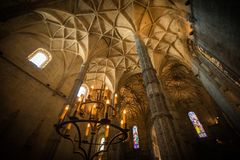 Gotiska Manuelino Arkivbilder