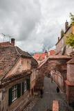 Gotiska Sibiu, Rumänien Arkivbild