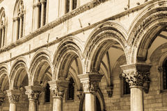 Gotiska stenpelare Royaltyfri Foto