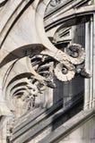 Gotiska stilstatyer av Doumo milan Royaltyfri Fotografi