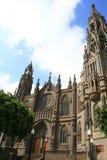 gotiska vändkretsar för domkyrka arkivfoton