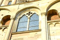 gotiskt fönster Royaltyfria Bilder