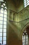 gotiskt fönster Royaltyfri Foto