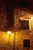 gotiskt fönster för vägg för gammal stil för hus Fotografering för Bildbyråer
