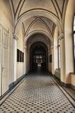 gotiskt galleri royaltyfria bilder