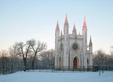 Gotiskt kapell royaltyfria bilder