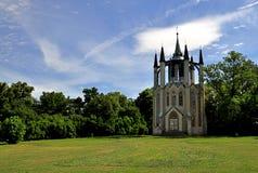 gotiskt krasny tempel för dvur royaltyfria foton
