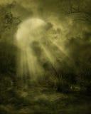 gotiskt landskap 01 Arkivbild