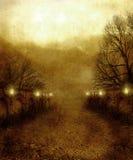 gotiskt landskap 07 Arkivfoton