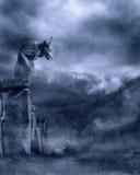 gotiskt landskap 11 Arkivbild