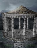 gotiskt landskap 111 arkivbild